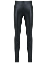 Adriana Degreas Panelled Leggings Black