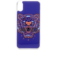 Kenzo Iphone Xs Max Tiger Case Blue
