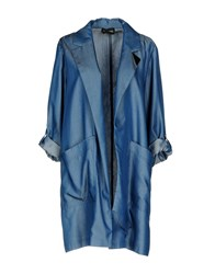 Guess By Marciano Denim Outerwear Blue