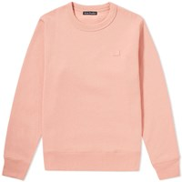 Acne Studios Fairview Face Crew Sweater Pink