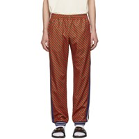 Gucci Red And Green Striped Lounge Pants