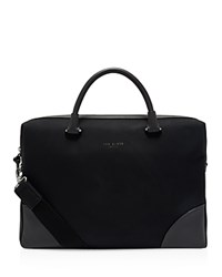 Ted Baker Matcher Nubuck Document Bag Black