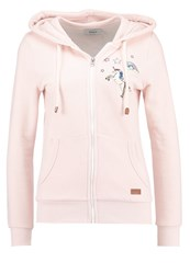 Only Onlfinley Tracksuit Top Peach Whip Pink