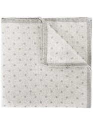 Eleventy Potty Pocket Square Nude Neutrals