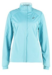 Asics Liteshow Sports Jacket Kingfisher Green