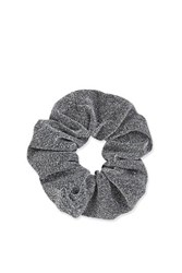 Topshop Glittery Scrunchies Silver