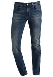 Hugo Boss Green Slim Fit Jeans Open Blue