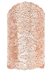 Aurelie Bidermann 'Vintage Lace' Cuff Metallic