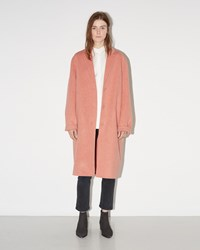 Acne Studios Avalon Wool Coat Rose Melange