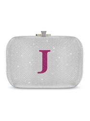 Judith Leiber Couture Slide Lock Bag Metallic