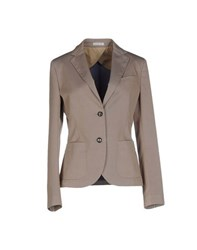 Manuel Ritz Suits And Jackets Blazers Women Beige