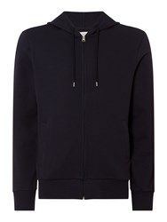 Criminal Eldon Zip Through Hoodie Blue