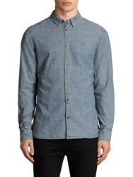 Allsaints Elmwood Long Sleeve Shirt