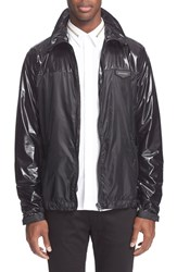 Men's Givenchy Contrast Zipper Jacket Black