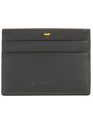 Canali Classic Cardholder Brown