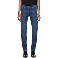 Givenchy Blue New Skinny Fit Jeans 400 Blue