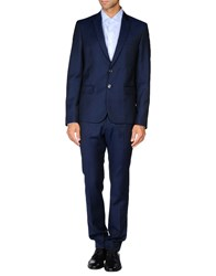 Just Cavalli Suits And Jackets Suits Men Dark Blue