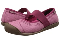 Keen Sienna Mj Canvas Beet Red Women's Flat Shoes