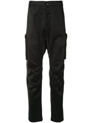 Makavelic Technical Cargo Trousers Black