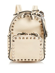 Valentino Rockstud Leather Mini Backpack