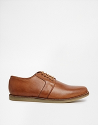 Frank Wright Blackwood Derby Shoes Brown