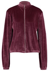 Evenandodd Tracksuit Top Dark Purple