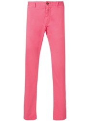 Closed Straight Fit Chinos Pink And Purple
