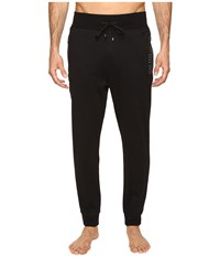 Hugo Boss Tracksuit Long Pants Cuffs Black Men's Pajama