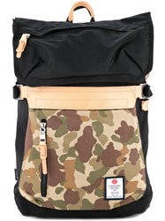 As2ov Camouflage Print Backpack Men Nylon One Size Black
