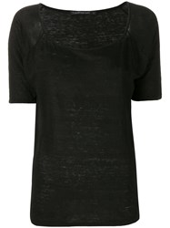 Transit Short Sleeve T Shirt Black