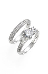 Women's Lafonn 'Lassaire' Engagement Ring And Band Set Of 2
