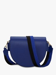 Liebeskind Berlin Mixed D Shaped Cross Body Bag Deep Blue