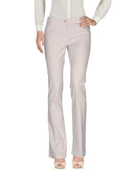 Scaglione City Casual Pants Light Grey