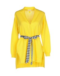 Aniye By Guardaroba Cardigans Yellow