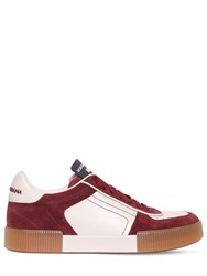 Dolce And Gabbana Calfskin Nappa Leather Miami Sneakers White