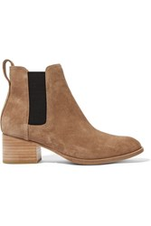 Rag And Bone Walker Suede Chelsea Boots Camel