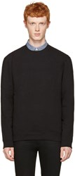 Naked And Famous Denim Black Slim Pullover