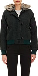 Boy By Band Of Outsiders Felted Hooded Jacket Green Size 0 0 Us