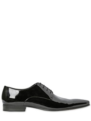 Dsquared Patent Leather Derby Lace Up Shoes Black