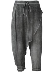 Lost And Found Ria Dunn Drawstring Layer Trousers Grey