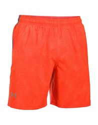 Under Armour Ua Launch Sw Printed 7 Inch Running Shorts Phoenix Fire