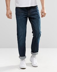 New Look Straight Jeans In Navy Navy