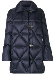 Fay Classic Padded Jacket Women Feather Down Polyamide M Blue