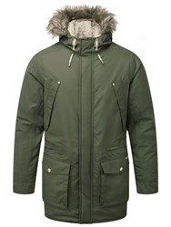 Craghoppers Men's Argyle Waterproof Insulating Parka Green