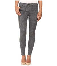 Parker Smith Ava Skinny In Grey Leopard Grey Leopard Women's Jeans Animal Print