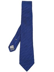 Canali Woven Tie Blue