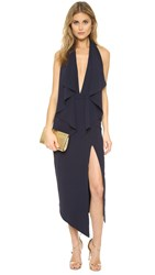 Misha Collection Lorena Dress Navy