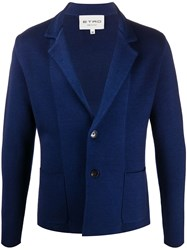 Etro Single Breasted Knitted Blazer 60