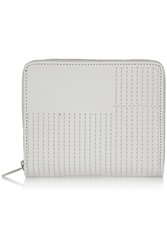 Rick Owens Embroidered Leather Wallet White