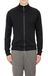 Ralph Lauren Black Label Ponte Zip Up Cardigan Black